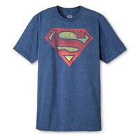 Men's Superman Shield T-Shirt Blue : Target