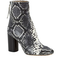 Isabel Marant Grover Snake-Effect Ankle Boot | Harrods
