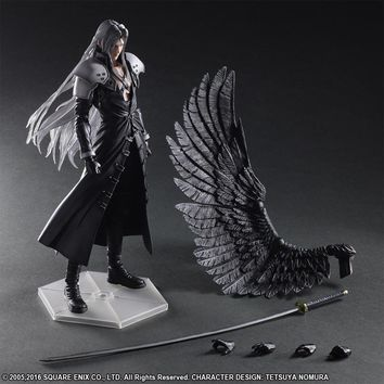 Paly Arts Kai Final Fantasy VII 7 Sephiroth PVC Action Figure Collectible Model Toy 28cm KT3636