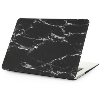 Tech Rubberized Hard Shell Matte Marble Case Best Protection Nanometer Cover for MacBook Air 11.6 , Air 13.3 , Pro 13.3 , Pro 15