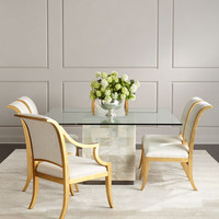 Bernhardt Palmetto Quartz Dining Table & Elizabeth Dining Chairs & Matching Items | Neiman Marcus