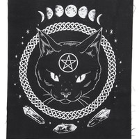 Magickal Protection Fabric Back Patch