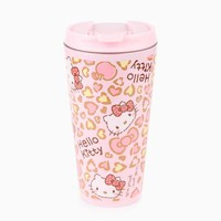 Hello Kitty 15oz Stainless Steel Mug: Leopard Love Collection