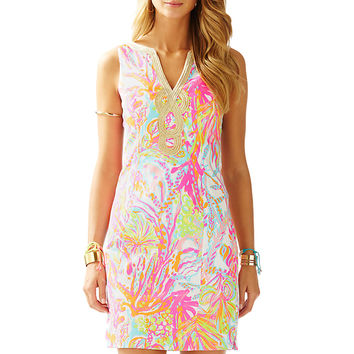 JANICE SHIFT - RESORT WHITE SCUBA TO CUBA W from Lilly Pulitzer, Available at Ocean Palm