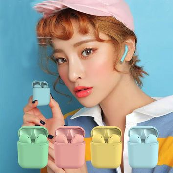 suiable for Bluetooth Headphones Wireless Earbuds Stereo Earphone Cordless Sport Headsets for Iphone AirPods iphone 8, 8 plus, X, 7, 7 plus, 6s, 6S Plus with Charging Case 5 colours