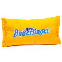 Small Plush Candy Pillow - Butterfinger