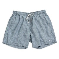 Dockside Swim Trunk - Toxaway Chambray by Southern Marsh