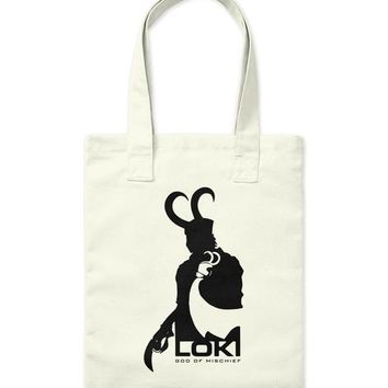 Marvel Loki Silhouette And Shadow Graphic T Shirt