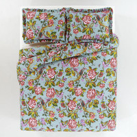 English Garden Duvet and Pillow Shams Set