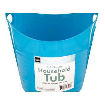 13 Gallon Household Tub with Handles ( Case of 24 )
