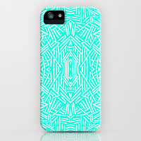 Radiate (Mint) iPhone & iPod Case by Jacqueline Maldonado
