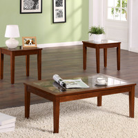 Dorel 3 Piece Occasional Table Set