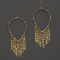 Lana Jewelry 14K Yellow Gold Oval Fringe Earrings | Bloomingdales's