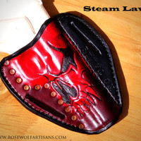 Tax Day Sale! - Custom Hand Tooled Form Fit Steam Law Holsters