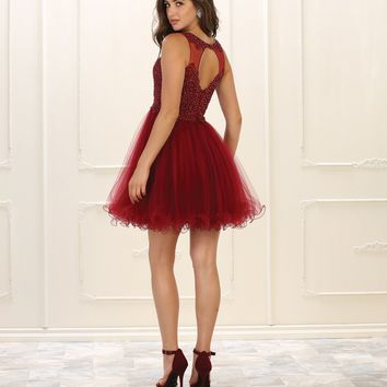 Short Dress Prom Formal Sexy Backless