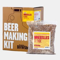 Brooklyn Brew Shop 'Bruxelles Blonde' One Gallon Beer Making Kit - Brown