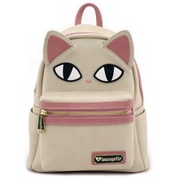Loungefly Cat Eyes Faux Leather Mini Backpack - View All - Bags