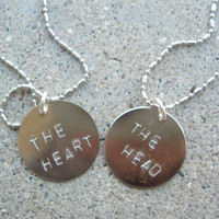 Two Sherlock inspired BFF necklaces