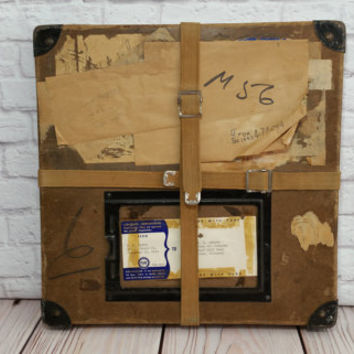 Vintage Movie Film Reel Shipping Box Storage Container