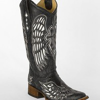 Corral Winged Cross Square Toe Cowboy Boot