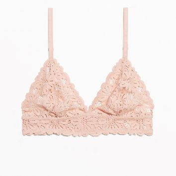 & Other Stories | Daisy Soft Bra | Pink