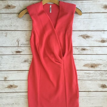 Eternity Dress-Coral