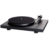 Matte Black Turntable