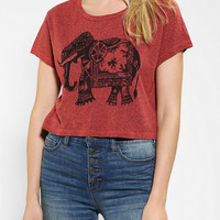 Title Unknown Elephant Cropped Tee