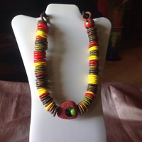 African Inspired Necklace Jewelry