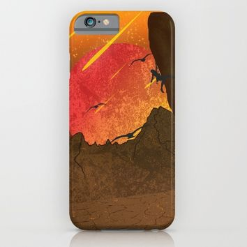 When The Red Moon Appears iPhone & iPod Case by Berwies