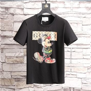 GUCCI Fashion Black T-Shirt Top Tee