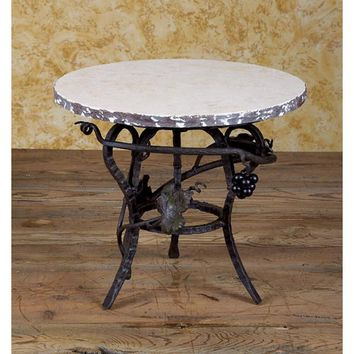 Bella Toscana 917 Wrought Iron Lazy Susan Server