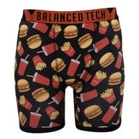 BALANCED TECH FAST FOOD PERFORMANCE BOXER BRIEF