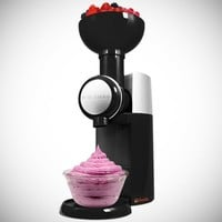 Big Boss 9338 Swirlio Frozen Fruit Dessert Maker, Black/Silver