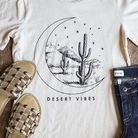 Desert Vibes Tee, Taupe