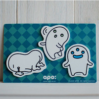 Apoi Ghost Sticky Note