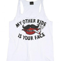 Lucky 13 Face Rider - Tanks - Women's Online Store