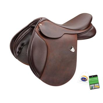 Bates (CAIR) Caprilli Close Contact Saddle with Heritage Leather