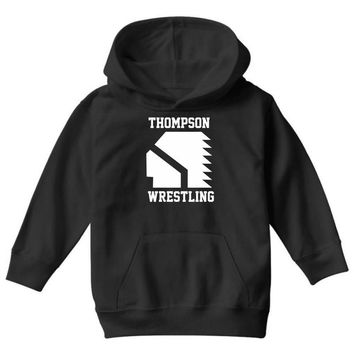 Thompson High School Wrestling (Vision Quest) Youth Hoodie