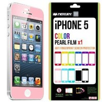 iPhone 5S Screen Protector, Caseology [HD Clarity] Apple iPhone 5/5S Screen Protector [2-Pack] [Pink] [3-Month Warranty] Color Film [Crystal Clear] Front Screen Protection iPhone 5/5S Screen Protector (for Apple iPhone 5/5S Verizon, AT&T Sprint, T-mobile,