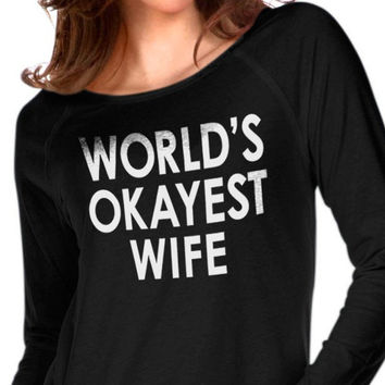 World's Okayest Wife Women's T-Shirt