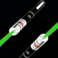 High Powered Green Laser Beam