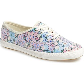 Keds® for kate spade new york champion daisy garden glitter sneaker (Women) | Nordstrom
