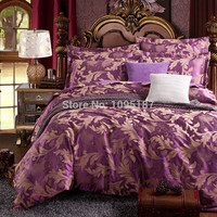 bedding set cotton jacquard luxury stain bed set  bed cover spring sheet 4pcs/set Queen king duvet set cover bed bedclothes