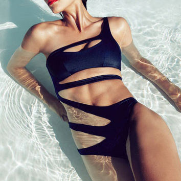 Sexy Hollow Out Swimsuit
