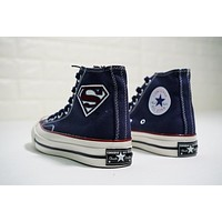 Superman! CONVERSE Chuck Taylor All Star 1970S ¡°Navy¡± Sneaker 124335