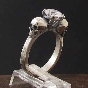 MySacrum  SKULL RING ENGAGEMENT