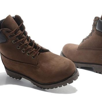 hcxx Timberland Rhubarb Boots 2018 Brown Waterproof Martin Boots