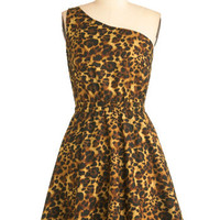 State Your Opinion Dress in Leopard