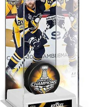 Phil Kessel Penguins 2017 Stanley Cup Champs Tall Hockey Puck Case - Fanatics